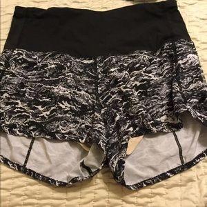 Lululemon High Waisted Shorts